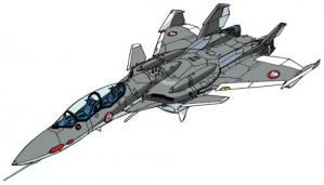 VF-0D fighter