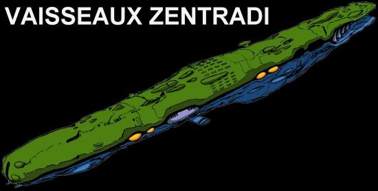 vaisseaux zentradi