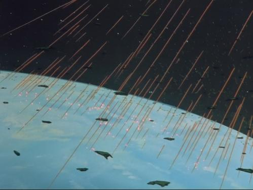 macross destruction of the earth