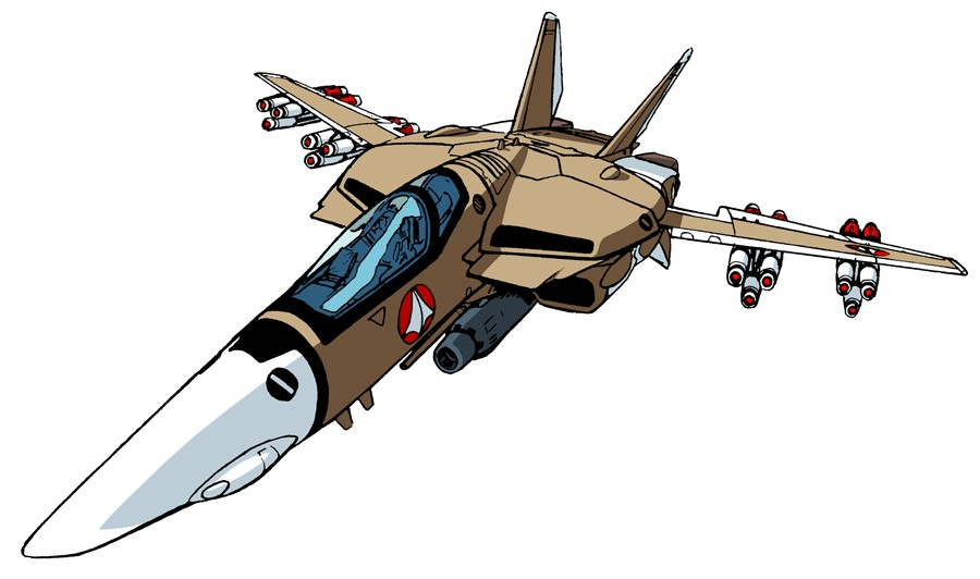 Vf 1a fullyarmed fighter