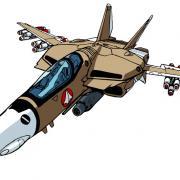Vf 1a fullyarmed fighter