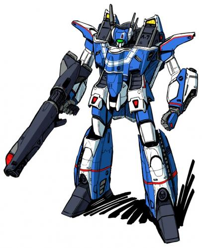 Vf 3000 blue battroid