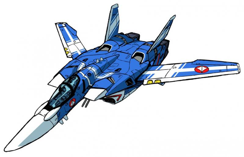 Vf 3000 blue fighter