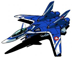 Vf 9 blue fighter