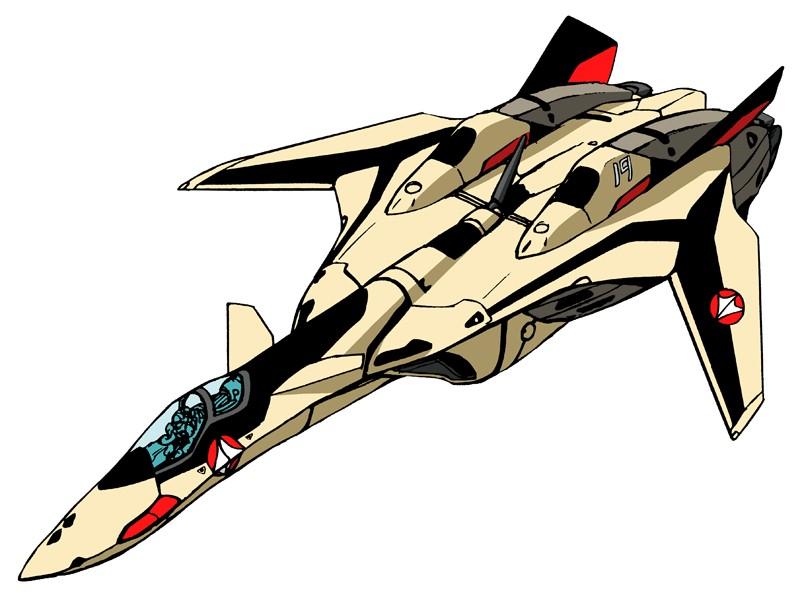 Yf 19 fastpack fighter